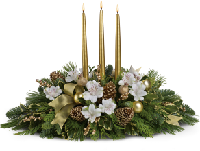 Royal Christmas Centerpiece